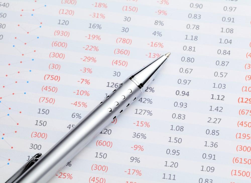 Data spreadsheet and pen-1