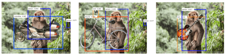 図6画像を重ねると誤検知することがある[1]
