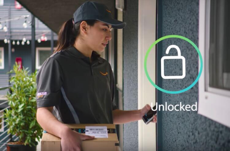 アマゾン、配達員が自宅ドアを解錠する「Amazon Key」発表。留守中でも荷物が届く