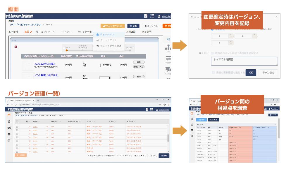 設計データの変更管理