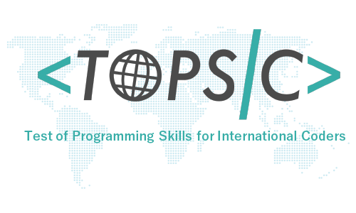 TOPSIC is measurement tool for programming skill.