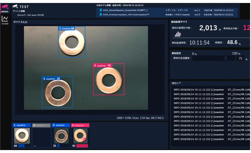 ディープラーニング異常検知システム AISIA-AD