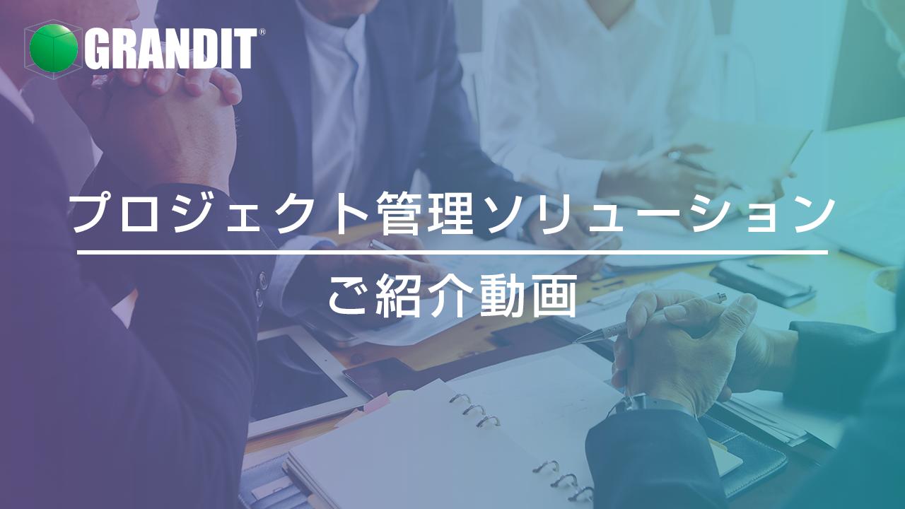 プロジェクト管理ソリューションご紹介動画