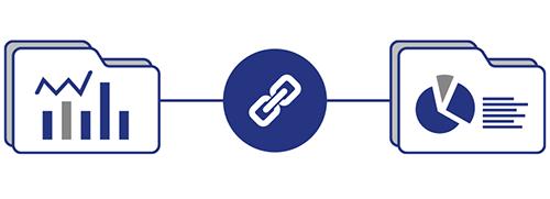 プロジェクトデータ、受注確度の連携